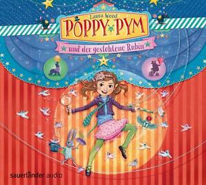 Poppy Pym und der gestohlene Rubin von Laura Wood Hörbuch