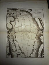 69 - CARTE MAP PLANS Campagne ITALIE 1745 & 1746 ST PONS FIGANIERES  1775