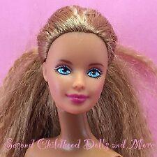 Barbie BUTTERFLY ART MACKIE FACE HEAD On Nude Cali Girl Beach Feet Body Doll O28