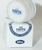 BRAND NEW! bliss The Youth Anti-Aging Moisture Cream Extraordinary 1 oz (2 Pack)