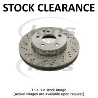 Stock Clearance New FRONT BRAKE DISC W204 C-CLASS 07- TOP KMS QUALITY PR