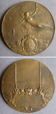 médaille en bronze VILLE DU HAVRE signée Hippolyte Lefebvre avec écrin