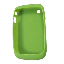 Genuine Blackberry Curve 3G 9330 Green Gel Rubber Silicon Skin Case Cover NEW