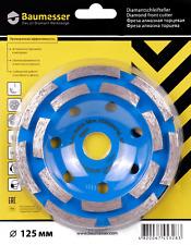 Baumesser® Diamant Schleiftopf Topfscheibe für Beton 125 / 22,23  Schleifteller