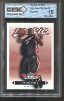 2003-04 Dwayne Wade UD MVP #205 Gem Mint 10 RC Rookie Miami Heat