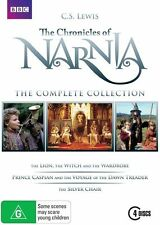 The Chronicles Of Narnia - The Complete Collection (DVD, 2011, 4-Disc Set)(D165)