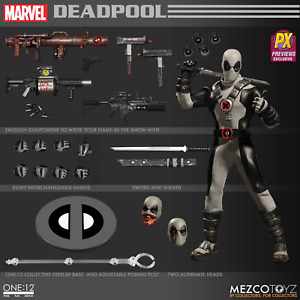 The One:12 Collective Marvel X-Force Deadpool PX Figure by Mezco