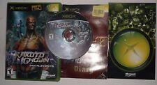 Kakuto Chojin (Microsoft Xbox, 2002) COMPLETE w/ Manual