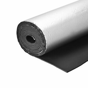 Insulation Sheet 4mx0.5mx5mm Thermal Barrier Roof Wall HVAC Duct Pipe