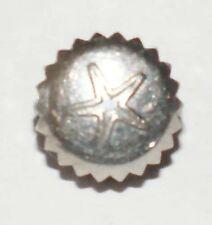 Aquastar acero inoxidable corona Ø 5,9mm de altura 3,7mm stem Ø 1,0mm