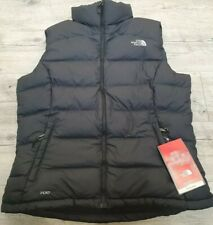 The North Face Nuptse Womens Vest Black Size Large 14/16 BNWT