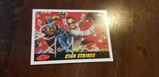 2013 COMIKAZE TOPPS MARS ATTACKS STAN LEE STRIKES PROMO CARD 1 AUTO BY JOE JUSKO