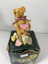 Boyds Bears Andy B Truelove Bearstone Collection with Box