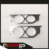 50mm&60mm ID Dual Double Billet Fuel Pump Filter Mounting Bracket Clamp Cradle