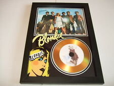 BLONDIE  SIGNED  GOLD CD  DISC  342