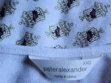 "PETER ALEXANDER ""SetMeFree""95%CottonMixL/sKnit SizeXXS  asNEW"