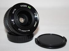 Sicor MC 28mm f/2.8 Lente Gran Angular-Pentax PK Montaje-En muy buena condición