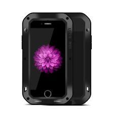 LOVE MEI Extérieur Métal Pare-chocs Coque Pour Apple iPhone 7 Plus