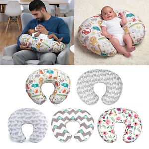 Stretchy 100/% Jersey Cotton Nursing Pillowcases Nursing Pillow Cover 2 Pack Large Zipper Ultra Soft Infant Support Pillow Cover for Baby Girls