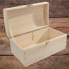 XSmall Wooden Treasure Chest / High-Quality Gold Latch / Box For Decoupage Craft