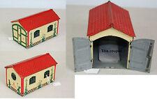 B064-5 - LEHMANN -- Garage en tôle lithographiée -- Bel état