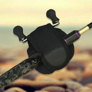 15Pcs Fishing Reel Cover Bag Protective Baitcasting Trolling Case