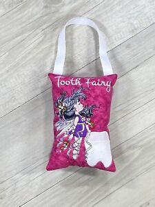 Tooth Fairy Pillow Birthday Gift Keepsake Tooth Pocket Cushion Christmas