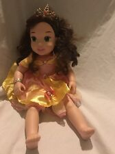 "My First Disney Doll 21"" Princess BELLE Talks Sings Beauty & The Beast Tolly  #3"
