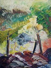 """Dipinto ad olio su tela """"Paesaggio impressionista """" firmato Salvani"""