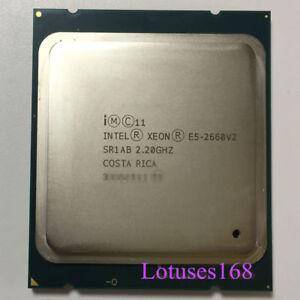 Intel Xeon E5-2660 V2 2.2 GHz 10-Core 20T 25M Processor SR1AB LGA2011 95W CPU