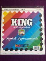 REPUBBLICA 1992 COSSIGA Serie parte A   MARINI VERSIONE KING NUOVI  INTROVABILI