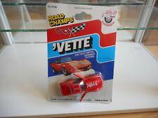 Road Champs Vette Chevrolet Corvette in Red on Blister