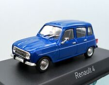 1:43 Norev Renault 4 Blue Die-cast Model Car