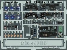 Eduard Accessories Fe338 - 1:48 Me 410B Für Revell Monogramm Bausatz - Ätzsatz -