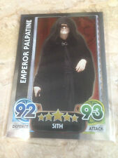 STAR WARS Force Awakens - Force Attax Trading Card #172 Emperor Palpatine