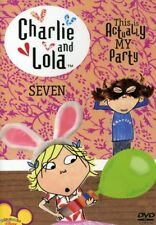 Charlie and Lola: Volume 7: This Is Actually My Party [New DVD]