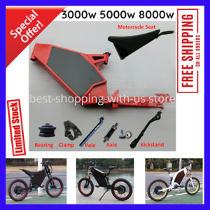 New Carbon Steel Electric Bike Frame Enduro ebike Design Waterproof Bomber Frame