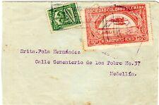 COLOMBIA - SCADTA - 30c COVER - BARRANQUILLA to MEDELLIN - Sc C15 - 1921 - RRR