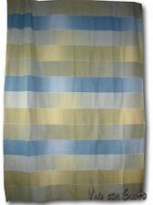 Vorhang Stoff Block Grün Blau 290x160 NEU Hrst Zucchi