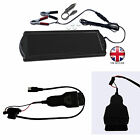 1.5 Watt 12 Volt Solar Panel Trickle Car Battery Charger With OBD 2 Connector