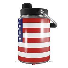 Skin Wrap for Yeti Half Gallon Jug USA American Flag 01