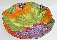 "Pamela Gladding Lg 16"" x 3"" Pasta Serving Bowl Certified International Tuscany"