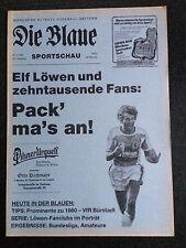 AR zur II. BL 83/84 TSV 1860 München - VfR 1910 Bürstadt, 27.05.1984