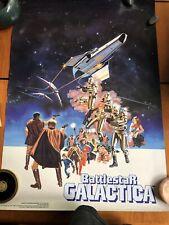 Vintage Battlestar Galactica Cereal General Mills Poster 1978 Pro Arts 20x28