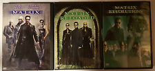 PELICULA DVD PACK MATRIX+MATRIX RELOADED+MATRIX REVOLUTIONS