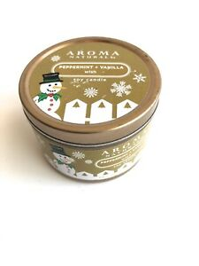 Aroma Naturals Holiday Wish Candle in To-go Soy Tin  New