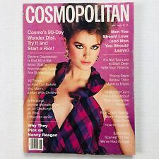 Vintage Cosmopolitan Magazine - May 1982 - Jackie Adams - Francesco Scavullo