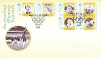 Australia Post First Day Cover - FDC - 1998 - Australian Olympic Legends 1 of 2
