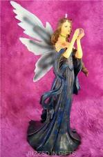 30cm LARGE STANDING GOTHIC DREAM FAIRY STATUE NEW BLUE