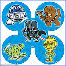 Star Wars Stickers x 5 - Party Supplies/Favours/Loot Bags - Pop Culture Design